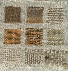 Sample 5 Needle-weaving